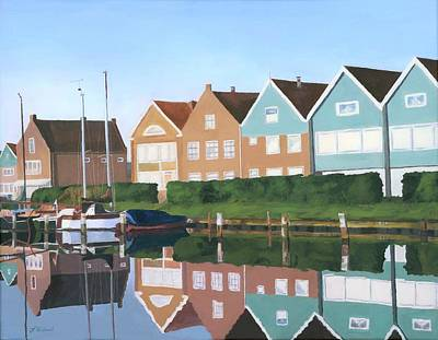 Painting - Reflections Of Holland by Lynne Reichhart