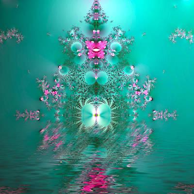 Rangoli Digital Art - Reflections Of India by Sharon Lisa Clarke