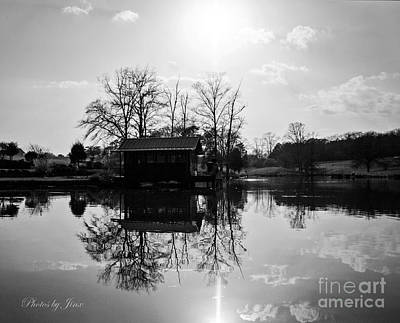 Photograph - Reflections Of Peace And Tranquillity by Jinx Farmer