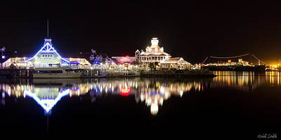 Photograph - Reflections Of Rainbow Harbor by Heidi Smith