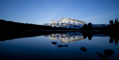 Watercolor Typographic Countries - Reflections of Rundle by Peter Coombes