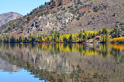 Eastern Sierra Photograph - Reflections Of Silver Lake by Lynn Bauer