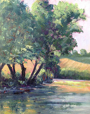Painting - Reflections Of Summer by Judy Fischer Walton