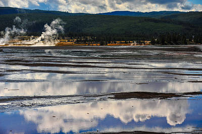 Photograph - Reflections Of Water by Harry Spitz