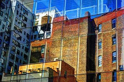 Photograph - Reflections On 9th Street by Lucia Vicari