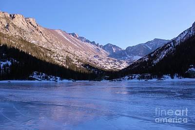 Cargo Boats - Reflections on a Frozen Lake by Tonya Hance