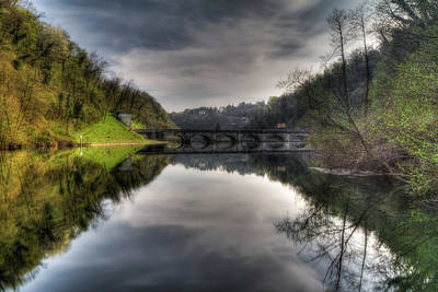 Photograph - Reflections On Adda River by Roberto Pagani