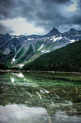 Photograph - Reflections On Avalanche Lake  by Jim McCain