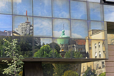 Photograph - Reflections On Belgrade by Tony Murtagh
