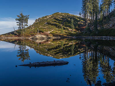 Photograph - Reflections On Hart Lake 2 by Greg Nyquist