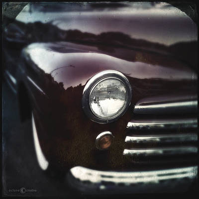 Photograph - Reflections On Maroon by Tim Nyberg