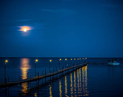 Reflections On Mille Lacs Art Print
