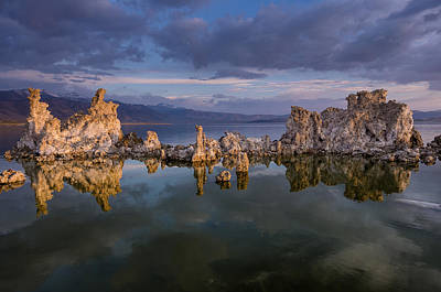 Photograph - Reflections On Mono Lake 1 by Greg Nyquist