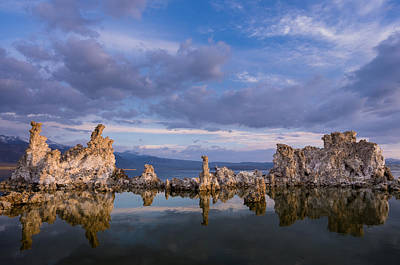 Photograph - Reflections On Mono Lake 2 by Greg Nyquist