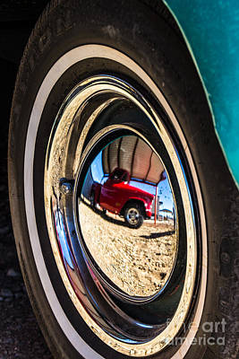 Photograph - Reflections On Route 66 by Jim McCain