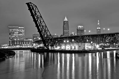 Flat Rock Photograph - Reflections On The Cuyahoga by Frozen in Time Fine Art Photography
