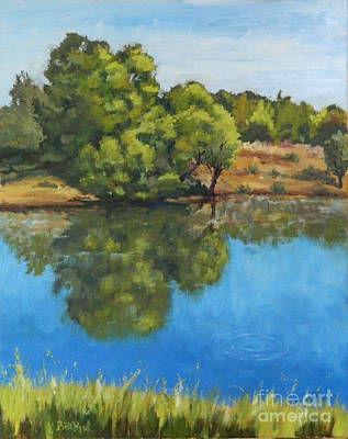 Painting - Reflections On The River by William Reed