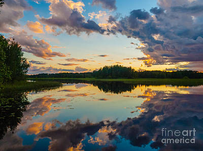 Photograph - Reflections On The Water by Ismo Raisanen