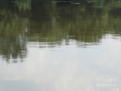 Photograph - Reflections On The Water by Joseph Baril