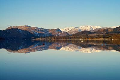Photograph - Reflections On Ullswater by Stephen Taylor