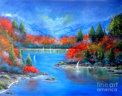 Painting - Reflections by Patrice Torrillo