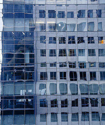 Urbanscene Photograph - Reflections by Rick Mosher
