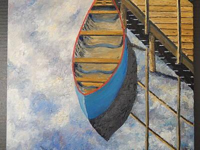 Robert Schmidt Painting - Reflections by Robert Schmidt