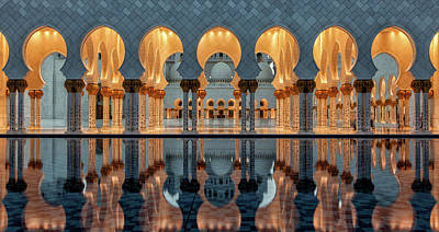 Column Photograph - Reflections by Stefan Schilbe