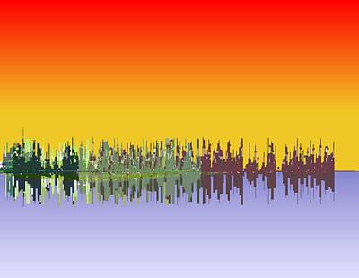 Digital Art - Reflections by Stephen Coenen