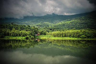 Kerala Photograph - Reflections by Through The Beauty Of Kerala .....