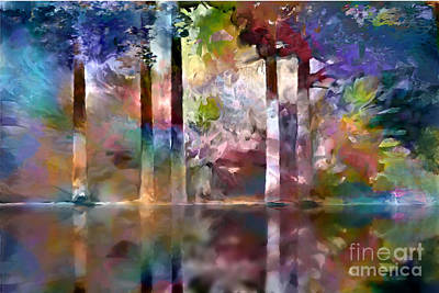 Digital Art - Reflections by Ursula Freer
