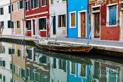 Venice Photograph - Reflections by Yuri Santin