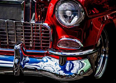 Photograph - Reflective Bumper by Karen Saunders