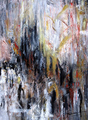 Painting - Reflective Emotions by Roberta Rotunda