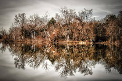 Arkansas Photograph - Reflective Morning by James Barber