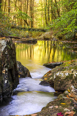 Ocoee Photograph - Reflective Pools by Debra and Dave Vanderlaan