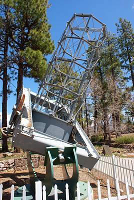 Flagstaff Wall Art - Photograph - Reflector Telescope At Lowell Observatory by Mark Williamson/science Photo Library