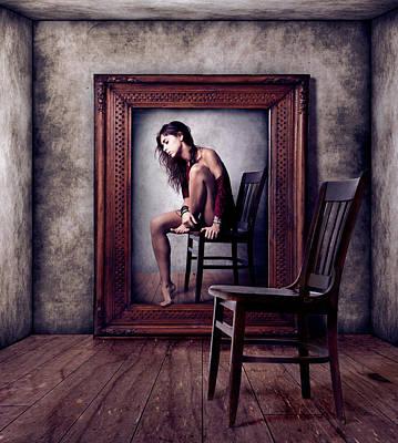 Introspection Photograph - Reflejo by Claudia M?ndez Cordero