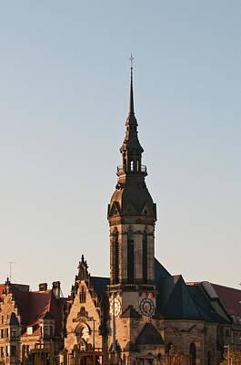 Reform Photograph - Reformed Church (evanglisch Reformierte by Michael Defreitas