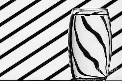 Op Art Photograph - Refracted Patterns 2 by Steve Purnell