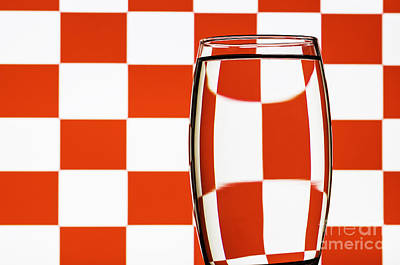 Photograph - Refracted Patterns 22 by Steve Purnell