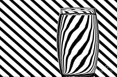 Op Art Photograph - Refracted Patterns 3 by Steve Purnell