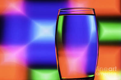 Photograph - Refracted Patterns 39 by Steve Purnell