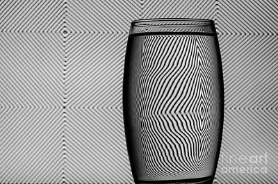 Photograph - Refracted Patterns 40 by Steve Purnell