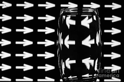 Photograph - Refracted Patterns 8 by Steve Purnell
