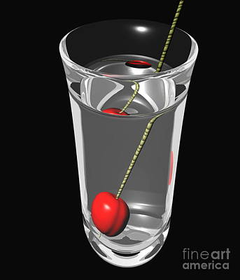 Illusory Photograph - Refraction by Andrew Syred