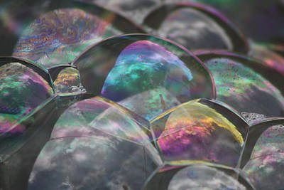 Refraction Art Print by Cathie Douglas