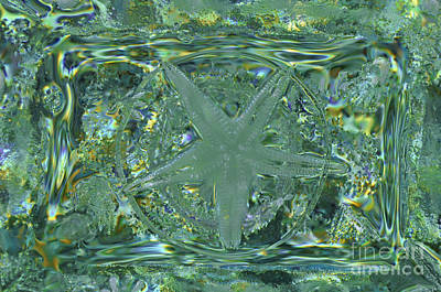 Refraction Rectangle Landscape Art Print