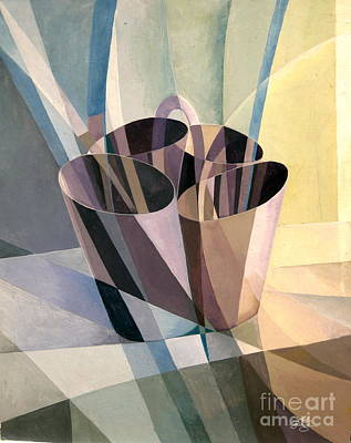Painting - Refraction Study by Bob  George