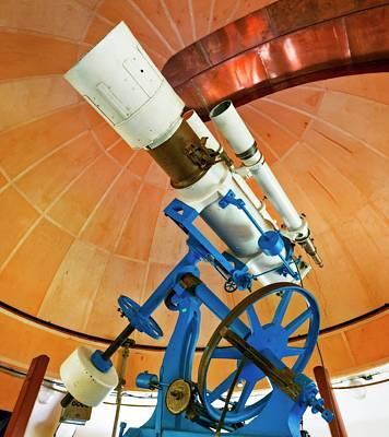 Refractor Astrograph Telescope Art Print by Babak Tafreshi